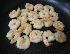 海老たまレタス炒め 調理③