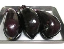 ナスと厚揚げの青紫蘇照り焼き 材料①