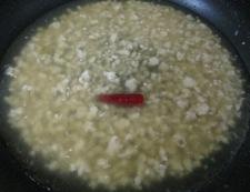 白麻婆 調理④