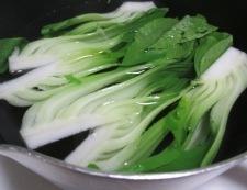 汁なし坦々麺 【下準備】②