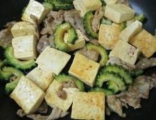 ゴーヤ豆腐 調理⑥