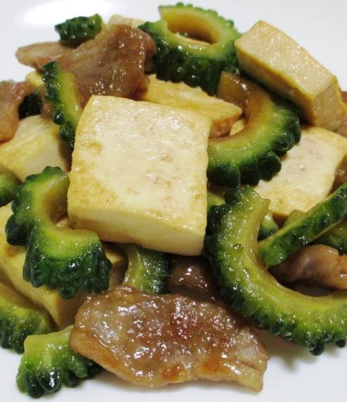 ゴーヤ豆腐 大