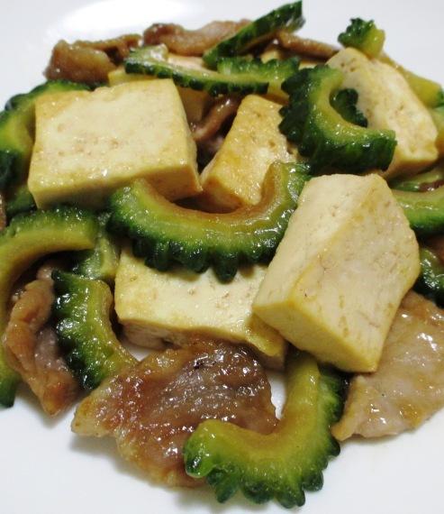 ゴーヤ豆腐 B