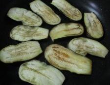 ナスのバジルチーズ焼き 調理①
