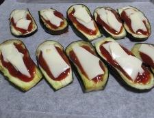 ナスのバジルチーズ焼き 調理④
