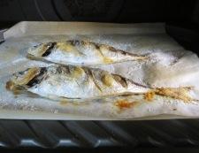 アジの塩焼き 調理②