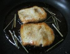 メカジキのレモングラス照り焼き 調理⑤