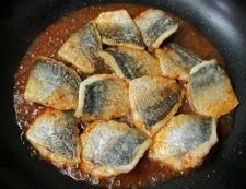 アジのピリ辛焼き 調理⑤