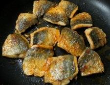 アジのピリ辛焼き 調理⑥
