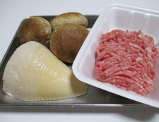 ジャージャー麺 材料①