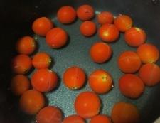マリネトマト 調理①