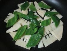 牛肉と筍オイスターソース炒め 調理④
