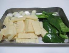 牛肉と筍オイスターソース炒め 【下準備】②