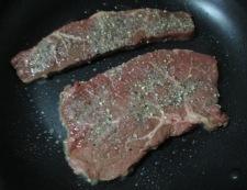 ステーキ 調理②