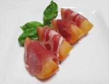 生ハムトマト 調理③