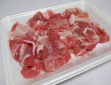 豚こまキャベツしょうが焼き 材料①