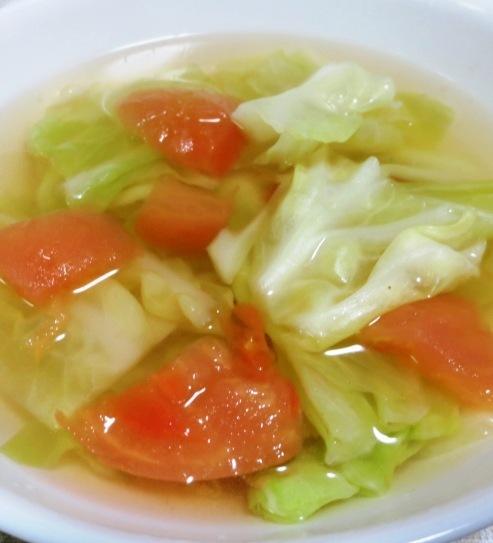 トマトキャベツスープ B