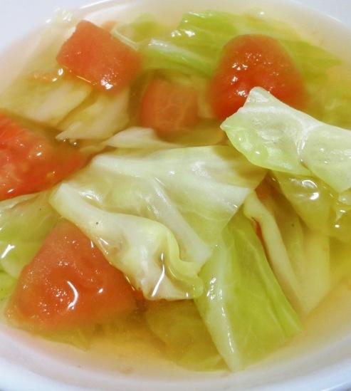 トマトキャベツスープ 大