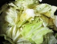 トマトキャベツスープ 調理①