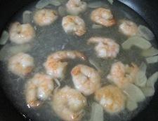 海老豆腐 調理④