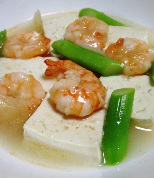 海老豆腐 B