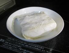 炒り豆腐 調理①