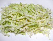 カニカマキャベツ 調理②