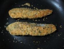 サーモンのチーズパン粉焼き 調理⑤
