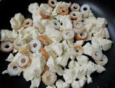豆腐と竹輪 調理②