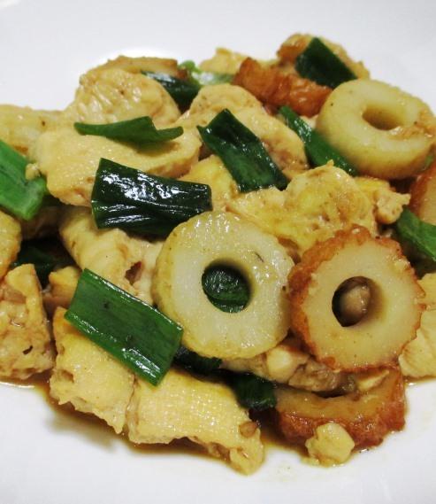 豆腐と竹輪 B