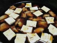 鶏もも肉と白菜のすき焼き風煮物 調理④