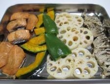 秋鮭の焼きびたし 調理④