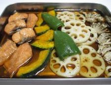 秋鮭の焼きびたし 調理⑤