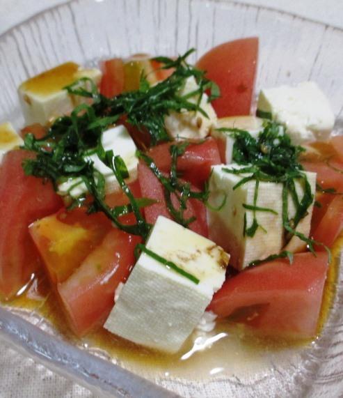 豆腐とトマト B
