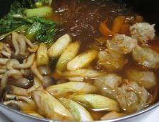シューマイと春雨のピリ辛鍋 調理⑤