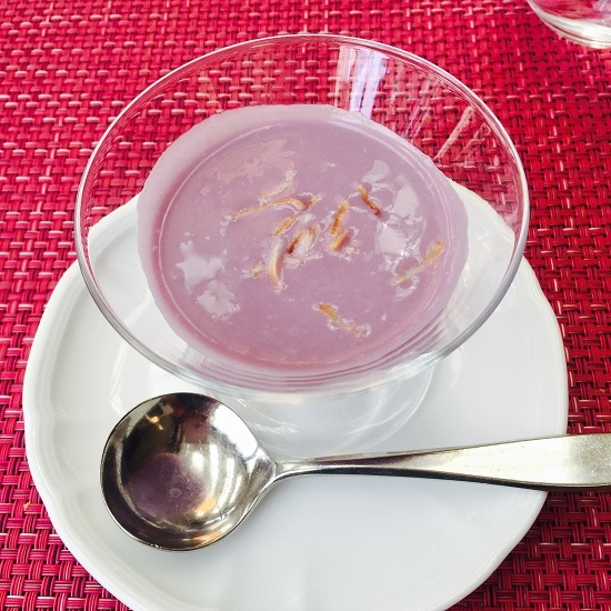 紅芋のスープ