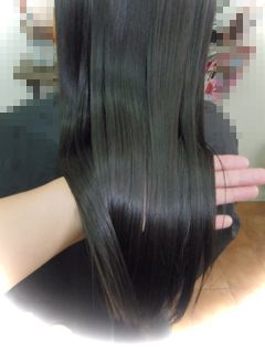 S様縮毛矯正1