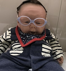 赤ちゃん用ゴーグルタイプメガネ0717 - コピー