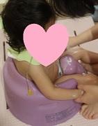 バンボでお風呂洗い0919 - コピー