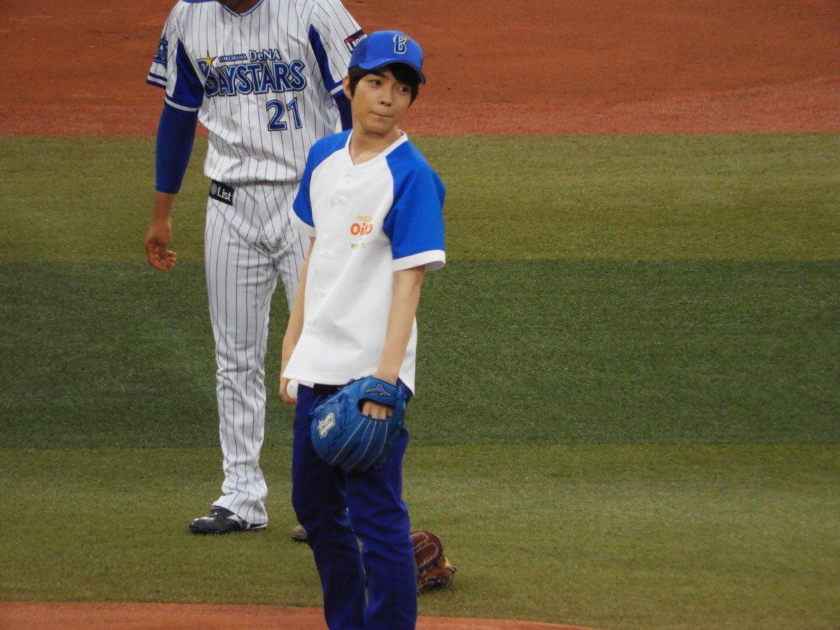 【画像】西畑大吾が横浜ベイスターズの試合で始球式を行い、ピッチングを野球ファンから絶賛される!