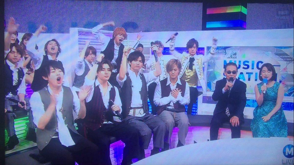 【Mステ】Hey!Say!JUMPがUVERworldのパフォーマンスを全力で盛り上げる姿に反響!