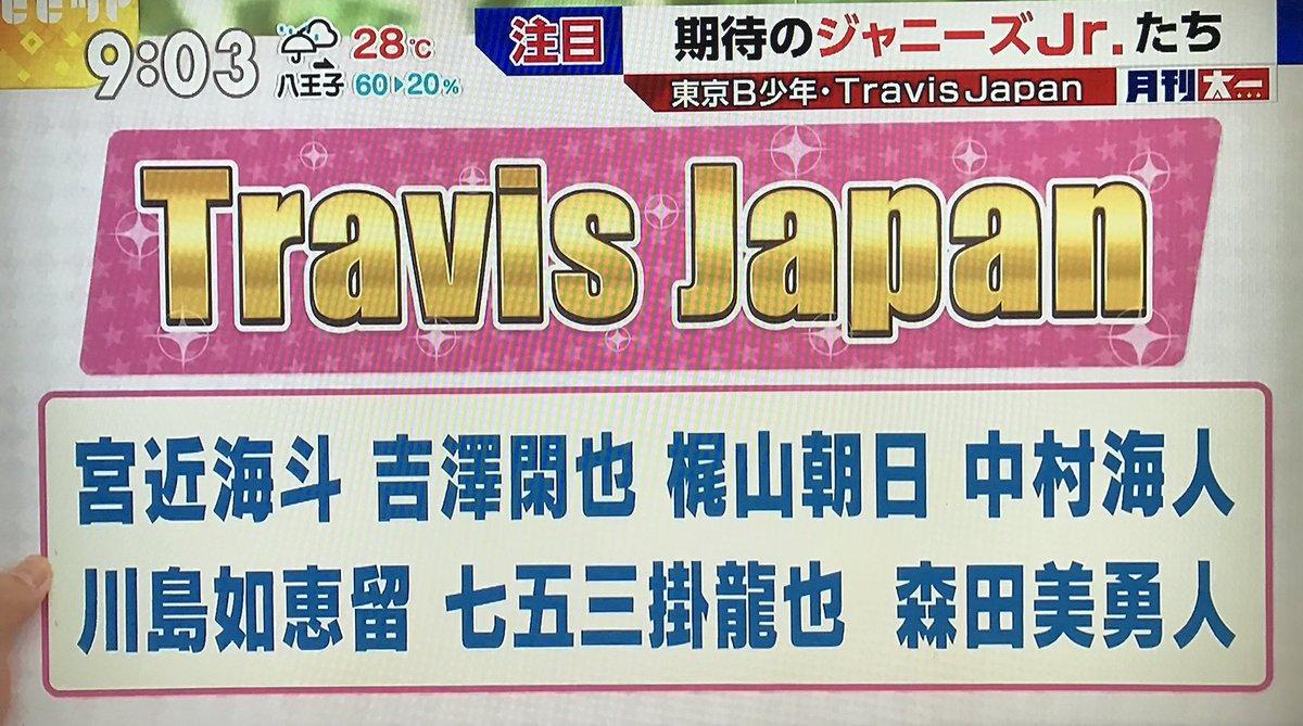 【朗報】森田美勇人はTravisJapanを抜けていなかった!ビビットがテロップで訂正する【画像】