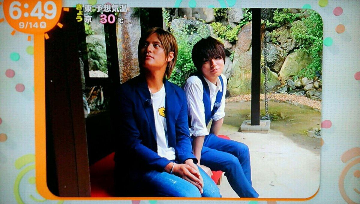【めざましテレビ】Hey!Say!JUMP岡本圭人が『伊野尾ピクチャー』と『イノ調』に降臨!