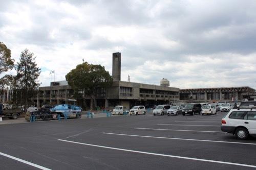 0254:伊賀市庁舎 北庁舎跡・体育館