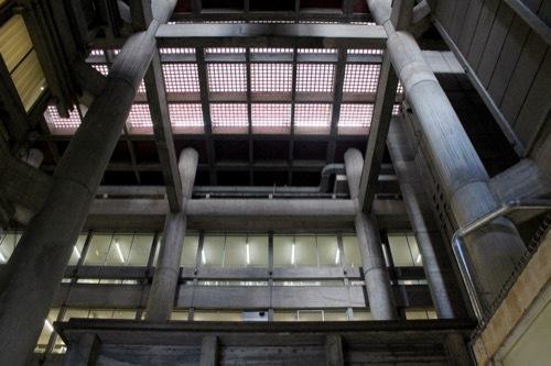 0255:大津市庁舎 本館アトリウム①