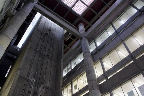 0255:大津市庁舎 本館アトリウム③