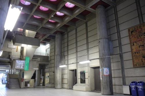 0255:大津市庁舎 別館アトリウム①
