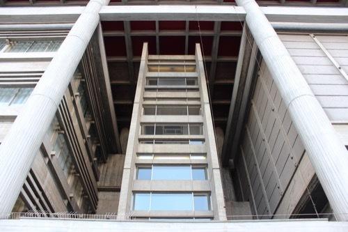 0255:大津市庁舎 本館階段室