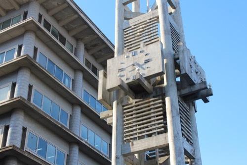 0255:大津市庁舎 時計台