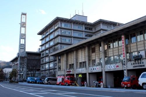 0255:大津市庁舎 別館の方角から